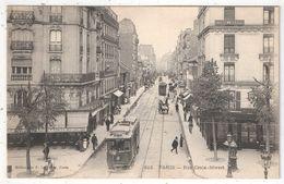 75 - PARIS 15 - Rue Croix-Nivert (vue De La Place Cambronne) - ELD 813 - Tramway - District 15