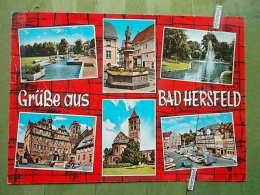 Kov 828 - BAD HERSFELD, Ed. Kruger - Germany