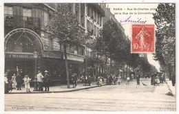 75 - PARIS 15 - Rue Saint-Charles Prise De La Rue De La Convention - Edition Bastide - Paris (15)