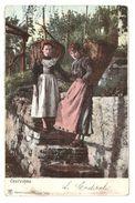 Costumes - Graubünden - San Vittore Grigioni - Suisse - 1906 - Dos Simple / Single Back - Costumes