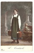 Costumes - San Vittore Grigioni 1906 - Dos Simple / Single Back - Costumes