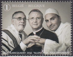 Jaar 2016 - Tolerantie / Tolérance - Belgique