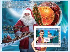 GUINEA 2008 - Transport In Culture, Christmas - YT BF914; CV = 13 € - Kerstmis