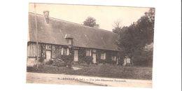 CPA 76 Seine Maritime NEVILLE - Maison  Chaumière Normande - France