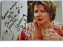 Actrice - Josiane BALASKO - Signé / Hand Signed / Dédicace Authentique / Autographe - Entertainers