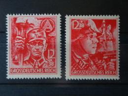 Deutsches Reich, Mi-Nr 909/10 Postfrisch ** MNH , 90,--Michel - Ungebraucht