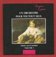 """C D  """" Collection Romance Enfants """" Un Orchestre Pour Toi Tout Seul , Chante Sur La Musique   (voir 2 Photo) - Autres"""