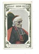 Cardinal Perraud Académicien  Chromo Bien/TB 103 X 62 Mm  Pub:Guérin-Boutron - Guérin-Boutron