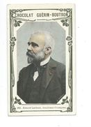 Ernest Lavisse Académicien  Chromo Bien/TB 103 X 62 Mm  Pub:Guérin-Boutron - Guérin-Boutron