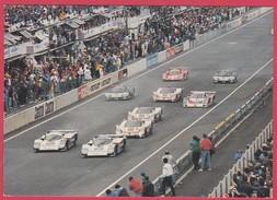 CPM - LE MANS - CIRCUIT DES 24 HEURES - LE DEPART LANCE - Le Mans