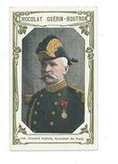 Général Dubois Paris Armée Française  Chromo Bien/TB 103 X 62 Mm  Pub:Guérin-Boutron - Guérin-Boutron
