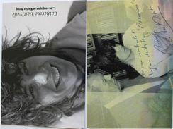 Escalade - Catherine DESTIVELLE - Signé / Hand Signed / Dédicace Authentique / Autographe - Alpinisme