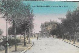 CPA De SAINT-GRATIEN   Avenue De La Gare - Saint Gratien