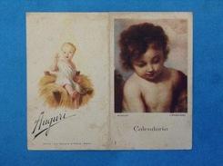 1946 CALENDARIO AUGURALE ROMA PIA SOCIETÀ S PAOLO MURILLO ANDERSON - Calendars