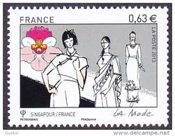 France N° 4825 ** La Mode - France/Singapour - Le 0.63 Défilé - Ungebraucht
