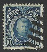 Philippines, 10 C. 1906, Sc # 245, Used - Philippines