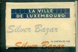 LA VILLE DE LUXEMBOURG.-CARNET MIT 10 POSTKARTEN- LIBRETTO CON 10 CARTOLINE - CARNET AVEC 10 CARTES POSTALES - Lussemburgo - Città