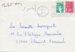 Lettre  Puy-de-Dome ISSOIRE  5/6/78  1° JOUR TARIF - Marcophilie (Lettres)