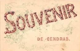 30 - GARD / 30012 - Cendras - Belle Carte Souvenir - Autres Communes