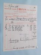 H. DUCULOT & Fils Liège ( Facture ) 1939 > Intercommunale D'Electricité Rance ! - Électricité & Gaz