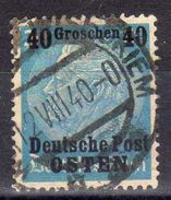 Generalgouvernement Mi 8, Gestempelt [071017StkKV] - Occupation 1938-45