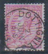 N° 46 -  Dottignies - 1884-1891 Leopoldo II