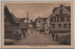 Nieder-Uzwil - Ochsenplatz, Gasthof Ochsen, Animee - Photo: Guggenheim - SG St. Gall