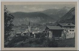 Dorfpartie Aus Filisur Mit Hotel Bahnhof - Photo: Engadin Press No. 3026 - GR Grisons