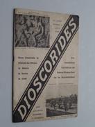 DIOSCORIDES ( 3me Année - N° 1 Aout ) 1939 ( Voir Photo Pour Detail De Quelques Pages ) NL / FR ! - Revues & Journaux