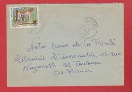 Congo / Enveloppe / De Ouesso  / Pour Toulouse / 17-04-75 - République Démocratique Du Congo (1964-71)