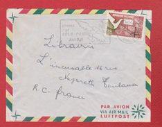 Congo / Enveloppe / De Brazaville  / Pour Toulouse - République Démocratique Du Congo (1964-71)