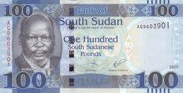 SOUTH SUDAN 100 POUND 2017 P-NEW UNC */* - South Sudan