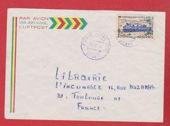 Congo / Enveloppe / De Pointe Noire   / Pour Toulouse / 25-02-1974 - République Démocratique Du Congo (1964-71)