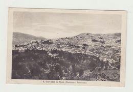 SAN GIOVANNI IN FIORE (COSENZA) - PANORAMA - VIAGGIATA 1935 - BOLLO STACCATO - POSTCARD - Cosenza