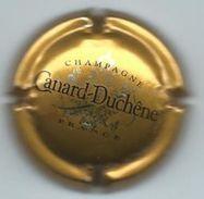 Champagne Canard- Duchêne  France  - Gouden Kroonkurk, Zwarte Tekst - Canard Duchêne