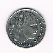 )  ITALIE  20 CENTESIMI   1940 XVIII - 1861-1946 : Royaume