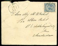 Nederland 1898 Brief Van Ede Naar Amsterdam Met NVPH 35 - Covers & Documents