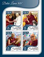 Solomon Islands. 2017 Dalai Lama XIV . (414a) - Buddhism