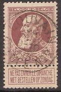 Nr. 77 Met ZELDZAME  Agentschapsstempel LOUVAIN AGENCE NR. 2 ; Staat Zie Scan ! Inzet 10 Euro ! - 1905 Grosse Barbe