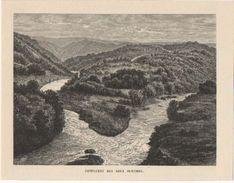 ENGREUX : Confluent Des Deux Ourthe - Estampes & Gravures