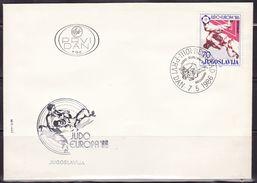 Yugoslavia, 1986, European Men's Judo Championships - Belgrade, FDC - FDC