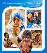 Solomon Islands. 2017 20th Memorial Anniversary Of Mother Teresa. (416b) - Mother Teresa