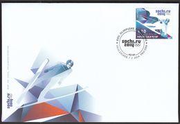 Croatia Zagreb 2014 / Olympic Games Sochi / Alpine Skiing / FDC - Inverno 2014: Sotchi