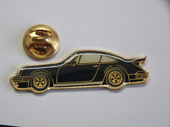 Pin's - Automobile - PORSCHE 930 TURBO - 85 Porsche Noire 930 Turbo - Porsche
