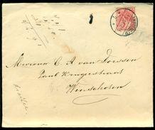 Nederland 1907 Brief Van Amsterdam Naar Winschoten Met NVPH 60 - Periode 1891-1948 (Wilhelmina)