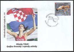 Croatia Osijek 2007 / Blanka Vlasic - Athletic Queen, High Jump World Champion / Athletics - Athletics