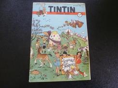 JOURNAL TINTIN   N°13  1948   Joyeuses Pâques - Kranten