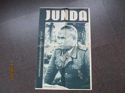 WW II 1944 17 JUNDA LATVIA , SS OBERGRUPENFÜHRER JEKELNS , OLD PAPER  , M - 1939-45