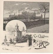 AYWAILLE-HARZE : Le Château - Estampes & Gravures