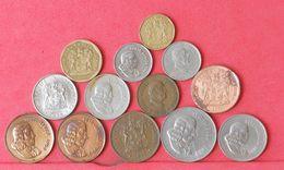 SOUTH AFRICA    - 13 COINS     - (Nº10397) - Südafrika